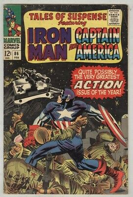 Tales of Suspense #86 February 1967 VG+