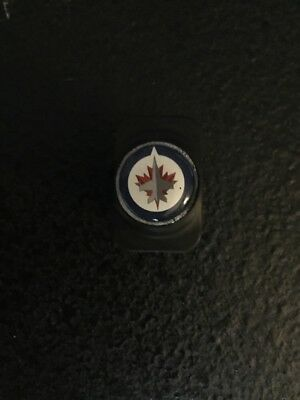 Warrior Winnipeg Jets Pro Stock Hockey Stick Butt End Cap Plug