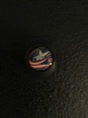 Warrior Columbus Blue Jackets Pro Stock Hockey Stick Butt End Cap Plug