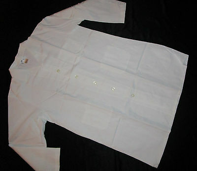 "Best Medical Men L/S Lab Coat 3 Pockets 42"" Length White Size 6X (68)"