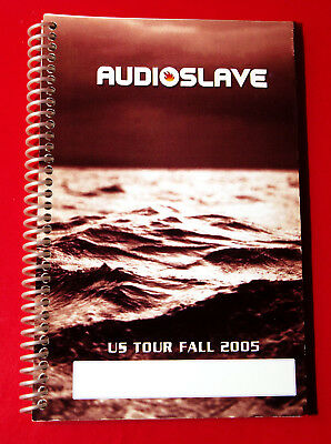 AUDIOSLAVE TOUR USA 2005 ITINERARY BOOK - Chris Cornell - HOTELS / TRAVEL