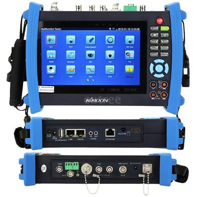 KKmoon 7in CCTV IP Camera Tester Monitor Cable Tracer Visual Fault Locator U6H6