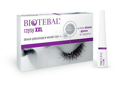 BIOTEBAL EYELASHES XXL SERUM 3ml - LONG, BEAUTIFUL AND HEALTHY EYELASHES