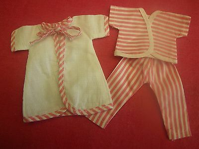 Vint. 3-pcs 50's Betsy McCall Original PAJAMA PARTY OUTFIT