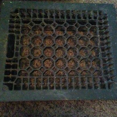 Vintage Cast Iron Floor Grate Register vent return air