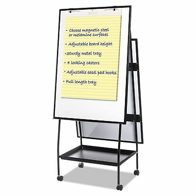 MasterVision EA49125016 Creation Station Dry Erase Board  29 12 x 74 78  Black