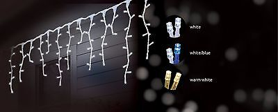 14.9M 600 Led Snowing Icicle Christmas Wedding Party Lights 8 Functions