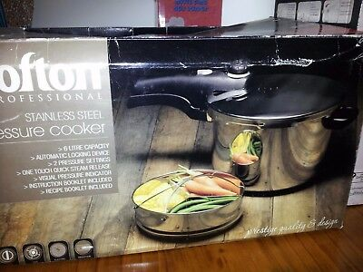pressure cooker 6L never used new in box