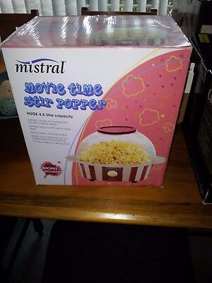 movie popcorn machine, used once