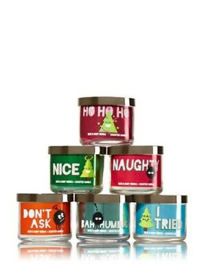 Buy 1 Get 1 50% OFF Bath and Body Works 1.3oz Mini Candle Jars 10 Hour Burn