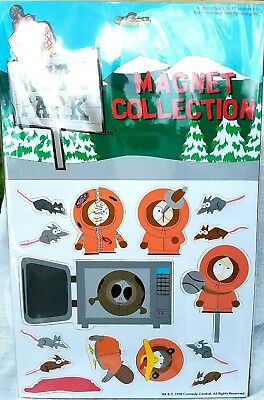 South Park KENNY MAGNET SET Comedy Central  MINT CONDITION