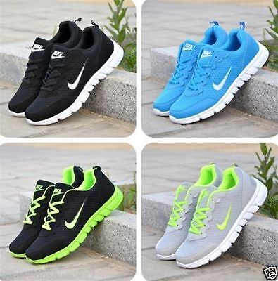 Mens And Boys Sports Trainers Running Gym Sizes Uk5.5-11.5