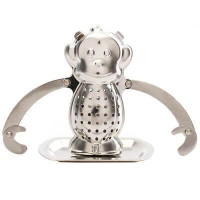 Loose Tea Leaf Infuser Tray Strainer Filter Herb Diffuser Stainless Steel PK