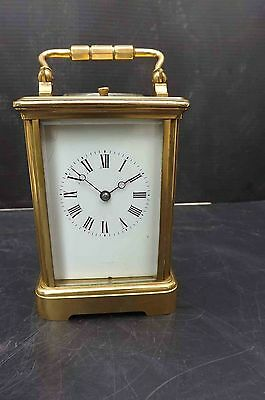 Repeater carriage clock. Free worldwide post.