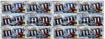 911934 12 x 42.5g PACKETS OF WHITE CHOCOLATE M&M'S, CANDIES - PRODUCT OF U.S.A.
