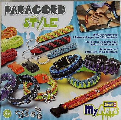 Paracord Style Set, Paracord Armbänder usw. selber machen, inkl. Anleitung