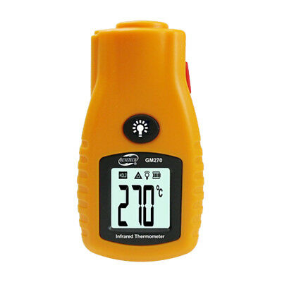BENETECH Non-Contact Digital Thermometer Infrared Thermometer Yellow PF