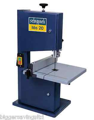 "Scheppach Hbs20 8"" Hobby Bandsaw 240V   ** Free Delivery **"