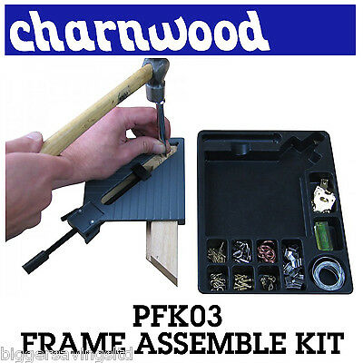 Charnwood Pfk03 Picture Framing Corner Kit Framers Joining Assembly Tool
