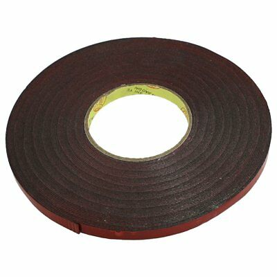 New 10mm Width 30M Length Red Film Acrylic Foam Double Sided Tape for Car PF