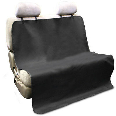 Pet/Cat/Dog Waterproof Mat Car Back Seat Cover Bench Protector with Belts PK
