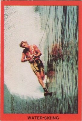 Tip Top Bread Australia - Water skiing card