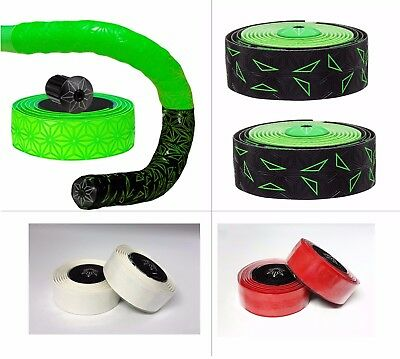 Supacaz Sticky Kush Star Fade Tape Bar Tape Bicycle Handlebar Tape Multi-Color