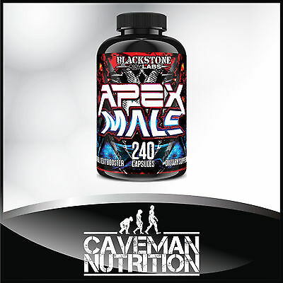 Blackstone Labs APEX MALE - 240 Capsules - Original U.S. Formula!!