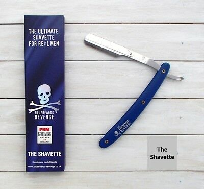 The Bluebeards Revenge Shavette / Straight Cut Throat Razor / Barber Shop No.1