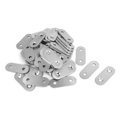 50 pcs Stainless Steel Flat Fixing Plate PK