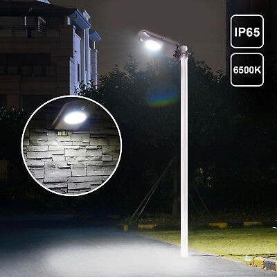 2500LM LED Street Light Outdoor IP65 Dusk to Dawn Garage Barn Security Lamp
