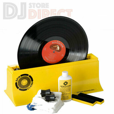 Pro-Ject SPIN CLEAN MKII Vinyl Record LP Cleaning Machine Washer + accessories