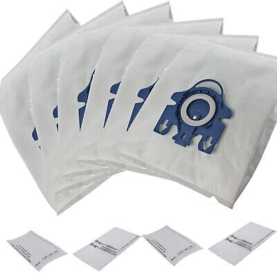 6x Bags + 2 Filters Fits Miele GN Blue Complete C2 C3 S2 S5 S8 S5210 S5211 S8310