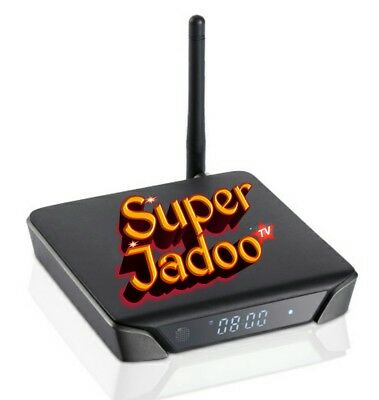 New Super Jadoo Box Tv With All World Channel Free Pakistani / Indian / Europe..