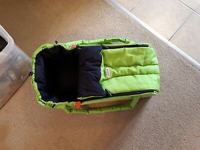 phil & teds baby cocoon carrier green