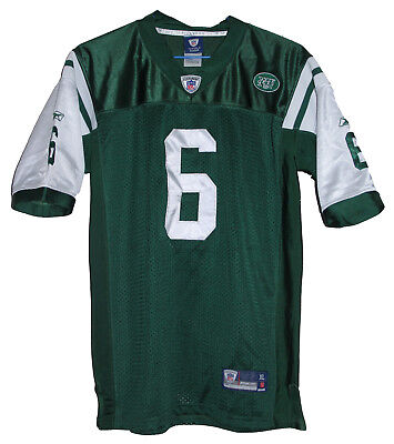 Nfl New York Jets #6 Mark Sanchez Reebok Football Jersey Size: Medium