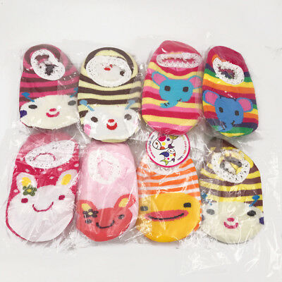 *DISCONTINUED* Dotty Fish Baby and Toddler Boys/Girls Cotton 5 PACK Foot Covers