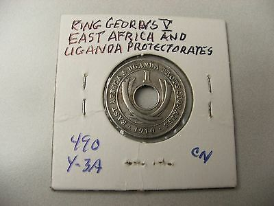 East Africa and Uganda Protectorates1910 1 cent- King Edward VII-11 coins minted