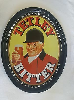 Tetley Bitter Smooth Brewed Since 1822 Oval Tray