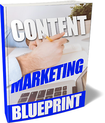 Content Marketing Blueprint- eBook , Videos and Bonuses on CD