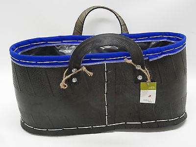 Debi Lilly Carnivale Gardening Tote - Recycled Rubber Tires ~Unique~Quirky~ Nwt