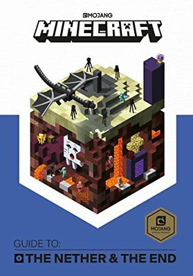 Minecraft Guide to The Nether and the End An offi by Mojang AB Hardback Book New