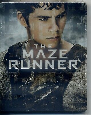 The Maze Runner -- Steel Book (Limited Edition) Dvd + Blu Ray - Nuovo
