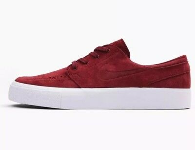 new arrival 67c88 5a5ae NIKE MEN S ZOOM STEFAN JANOSKI PREM HT SHOES SIZE 12 Team Red White 854321  661