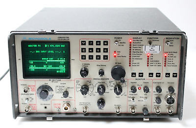 Motorola R2021D / HS Communications System Analyzer Service Monitor