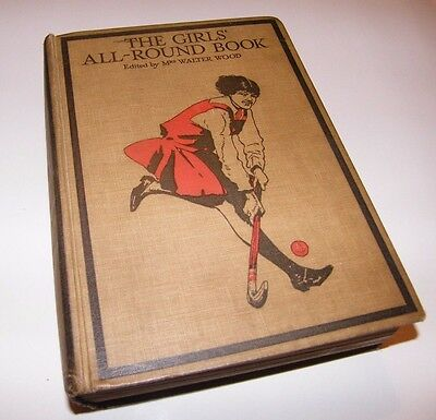 Vintage H/B - The Girl's All Round Book of Stories, Sports and Hobbies, c.1920's