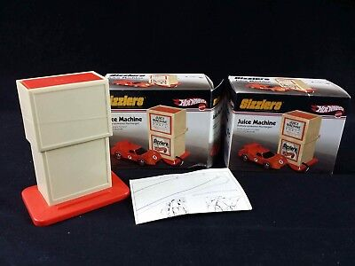 Hot Wheels Sizzlers Juice Machine Recharger Lot of 2-1 Sealed Rechargeable Power