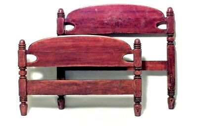 American Country Style (19th Cent.) Cherrywood Single Size Bed