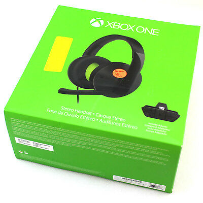 Microsoft Xbox One Stereo Headset with Headset Adapter S4V-00005 **See Details**