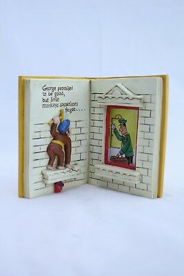 Vintage Curious George Takes a Job Photo Frame